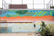 Trilok Mural Timelapse Video